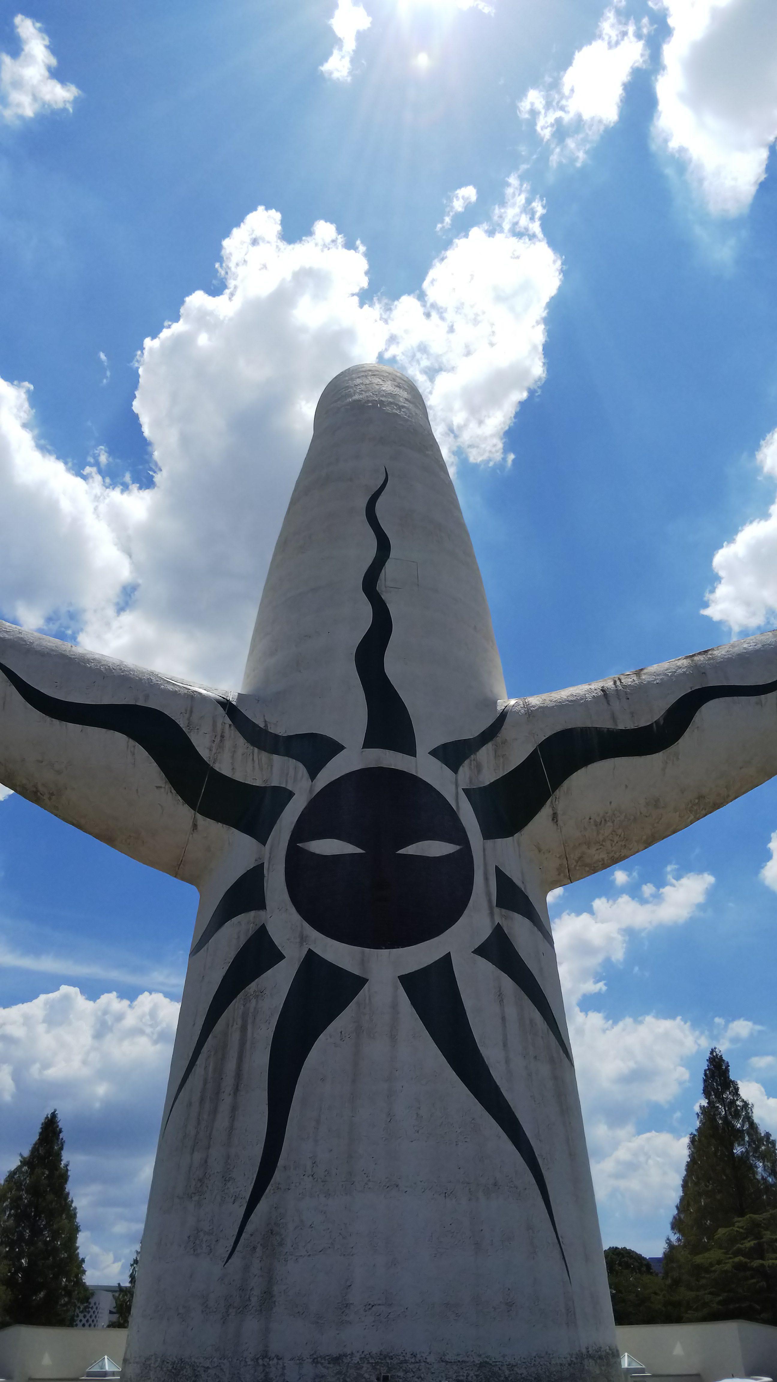 太陽の塔-裏(SH-M06撮影)